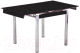 Обеденный стол Седия Karlota 16 (хром/черный) -