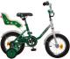Детский велосипед Novatrack UL 124MAPLE.GN7 -