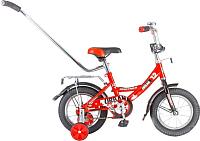 Детский велосипед с ручкой Novatrack Urban 124URBAN.RD6 -