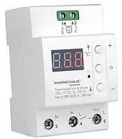 Терморегулятор для теплого пола Warmehaus Ice&Snow DIN 20 -