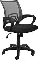 Кресло офисное Седия Ricci (черный/черный) -
