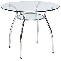 Обеденный стол Седия Finesia-C (хром/стекло) -