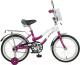 Детский велосипед Novatrack Zebra 165ZEBRA.CLR6 -