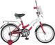 Детский велосипед Novatrack Zebra 165ZEBRA.RD6 -