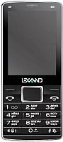 Мобильный телефон Lexand A4 Big (черный) -
