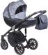 Детская универсальная коляска Anex Sport 2017 2 в 1 (AB04/graphit_noise) -