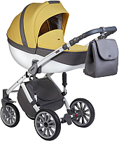 Детская универсальная коляска Anex Sport 2017 3 в 1 (SP18/yellow_stone) -
