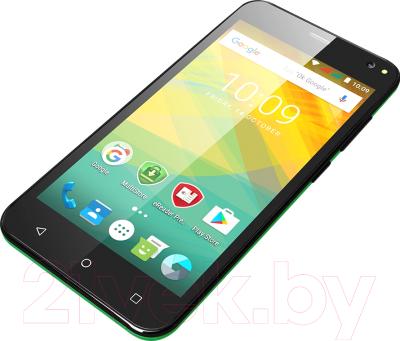 Смартфон Prestigio Wize NV3 3537 Duo / PSP3537DUOGREEN (зеленый)