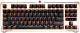Клавиатура A4Tech Bloody B830 (золотистый/черный) -