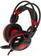 Наушники-гарнитура A4Tech Bloody G300 (черный/красный) -