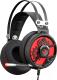 Наушники-гарнитура A4Tech Bloody M660 Chronometer (черный/красный) -