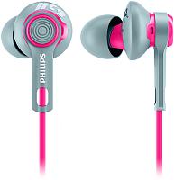Наушники Philips Actionfit SHQ2300PK/00 (серый/розовый) -