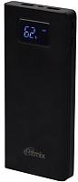 Портативное зарядное устройство Ritmix RPB-15001P (черный) -