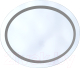 Зеркало для ванной Saniteco Париж 5021-1 -