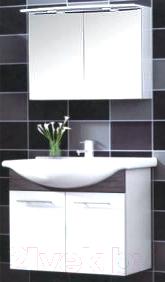 Зеркало для ванной Saniteco Варна 3065-1 - коллекция «Варна» в интерьере