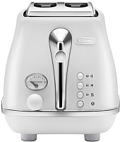 Тостер DeLonghi Icona Elements CTOE2103.W -