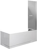 Стеклянная шторка для ванны Sanplast KW/PRIII-80-S sbW0 -
