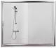 Стеклянная шторка для ванны Sanplast D2-W/TX5b-170-S sbW0 -