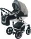 Детская универсальная коляска Vikalex Ferrone 2 в 1 (черный/белый) -