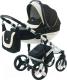 Детская универсальная коляска Vikalex Tasso 3 в 1 (черный) -