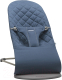 Детский шезлонг BabyBjorn Bliss Cotton Midnight Blue 0060.15 -