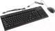 Клавиатура+мышь Genius KM-125 (черный) -