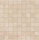 Декоративная плитка ColiseumGres Сиена Вставка Мозаика (300x300, бежевый) -