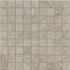 Декоративная плитка ColiseumGres Сиена Вставка Мозаика (300x300, серый) -