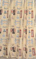 Текстильная шторка для ванной Milardo 870P180M11 -