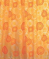 Текстильная шторка для ванной Milardo 860P180M11 -