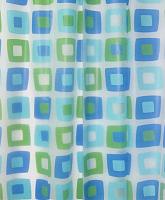 Текстильная шторка для ванной Milardo 506V180M11 -