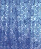 Текстильная шторка для ванной Milardo 900P180M11 -