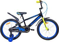 Детский велосипед Aist Pluto (16, черный) -