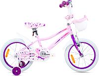 Детский велосипед Aist Wiki (16, розовый) -