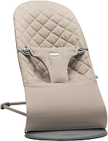 Детский шезлонг BabyBjorn Bliss Cotton Sand Gray 0060.17 -
