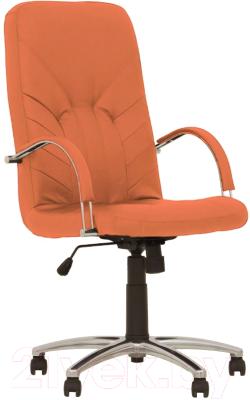 Кресло офисное Nowy Styl Manager Steel Chrome (Eco-72)