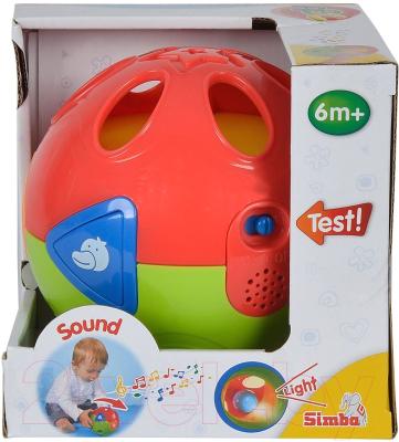 Развивающая игрушка Simba Шар со светом и музыкой 104018164