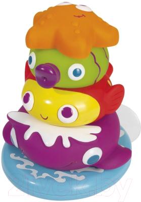 Развивающая игрушка Simba Пирамидка с игрушками-брызгалками 104019678