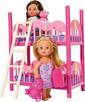 Кукла Simba Подружки Эви и двухэтажная кровать 105733847 -