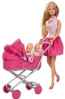 Кукла Simba Штеффи с большой коляской 105738060 -