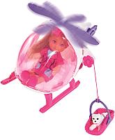 Кукла Simba Эви и спасательный вертолет с собачкой 105739469 -