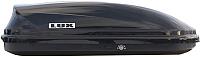 Автобокс Lux 390 360L 841818 (черный металлик) -