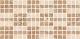 Декоративная плитка Нефрит-Керамика Аликанте (500x250, мозаика бежевая) -
