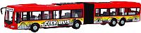 Масштабная модель автомобиля Dickie Городской автобус фрикционный 203748001 -