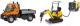 Набор игрушечных автомобилей Dickie Набор дорожной техники 203828005 -
