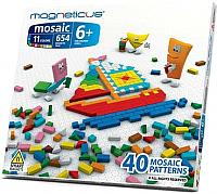 Развивающая игрушка Magneticus Мозаика MM-0650 (654элемента/11 цветов/40 этюдов) -
