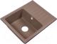Мойка кухонная Rossinka Silvermix RS56-46SW (песочный) -
