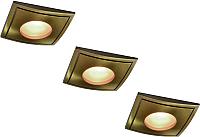 Точечный светильник Arte Lamp Aqua A5444PL-3AB -