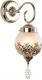 Бра Arte Lamp Moroccana A4552AP-1GO -