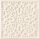 Декоративная плитка Tubadzin Majolika Creme B (200x200) -